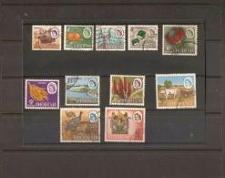 RHODESIA 1966 - 1968 SET SG 397/407 FINE USED Cat £40 - Rhodesia (1964-1980)