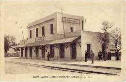 Tunisie – Metlaoui – Philippe-Thomas – La Gare - Tunisie