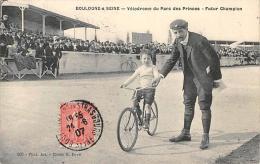 Sport.  Cyclisme  Vélodrome Du Parc Des Princes.  Futur Champion - Cyclisme