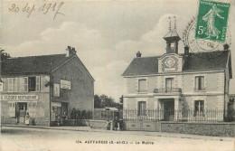 78 - AUFFARGIS - Mairie - Restaurant G. Fleury - Auffargis