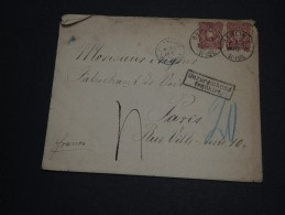 ALLEMAGNE - Enveloppe De Berlin Pour Paris En 1875 - A Voir - L 926 - Covers & Documents