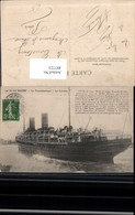 487723,Hochseeschiff Schiff Le Havre Le Transatlantique La Lorraine Dampfer - Handel