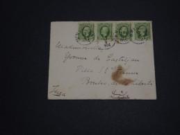 SUÉDE - Enveloppe Pour La France En 1914 , Affranchissement 2 Paires - A Voir - L 928