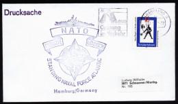 A4104) Bund Drucksache-Brief Von Marine Hamburg Fregatte LÜBECK 31.3.71 - BRD