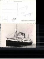 487724,Foto Ak Gouverneur General Chanzy Dampfer Hochseeschiff Schiff - Handel
