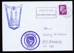 A4106) France Frankreich Brief Von Deutscher Marine Schnellboot Marder 2.8.68 - Briefe U. Dokumente