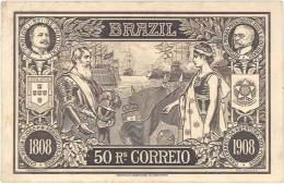 Brésil – 50 Rs Correio ( 1808 / 1908 ) Fac-similé Billet De Banque - Brésil