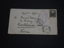 PEROU - Enveloppe  Pour La France En 1888 , Affranchissement Incomplet - A Voir - L 940 - Pérou