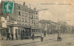 78 - MAISONS LAFFITTE - Station De Tramway - Chemin De Fer - Maisons-Laffitte