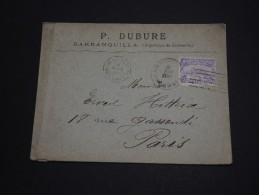 COLOMBIE - Enveloppe De Barranquilla Pour La France - A Voir - L 947 - Colombie