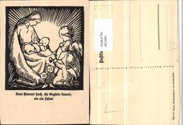 491969,Künstler AK Bertha-Heller Maria Jesuskind Engeln - Engel