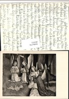 491973,Künstler AK Jesuskind Engeln Gebet - Engel