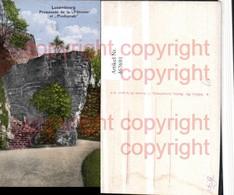 467691,Luxembourg Promenade De La Petruse Et Predigstuhl Felsen - Ansichtskarten