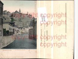 467690,Luxembourg L'Alzette Au Grund Teilansicht Fluss - Ansichtskarten