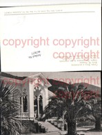 467877,Abkhazia Abchasien Gagra Entrance Colonnade Eingang Palmen - Ansichtskarten