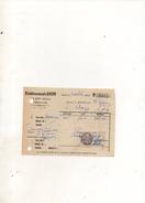 Facture Etablissements Soum à Laon Le 9 Octobre 1931 - Frankreich