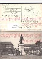 467986,Senegal Dakar Statue Faidherbe Denkmal Volkstypen - Ansichtskarten