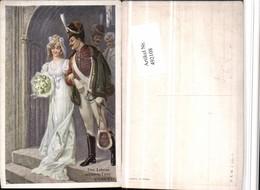 492108,Künstler AK R. Kratky Lebens Schönste Feier Hochzeit Pub B.K.W.I. 223/1 - Hochzeiten