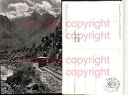 468018,Peru Autocarril De Cuzco A Machupicchu Bergbahn Bergkulisse - Peru