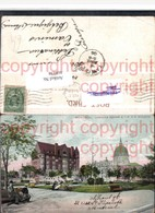468038,Quebec Montreal Dominion Square And YMCA Building Gebäude - Quebec