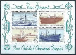 TAAF 2001 Bloc N°6 Neuf Navires Vieux Gréments - Blocks & Sheetlets