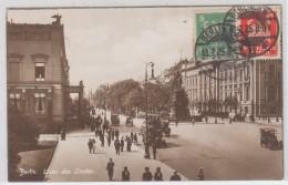 GERMANY POSTCARDS BERLIN UNTER DEN LINDEN 13.7.1925 - Unclassified