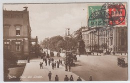 GERMANY POSTCARDS BERLIN UNTER DEN LINDEN 13.7.1925 - Germania