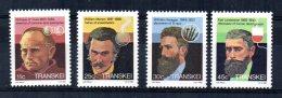Transkei - 1984 - Celebrities Of Medicine (3rd Series) - MNH - Transkei
