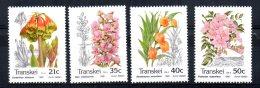 Transkei - 1990 - Flowers - MNH - Transkei