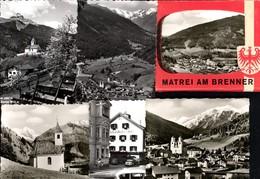 493567,Leporello Sammelmappe 9 Fotos Ansichten Matrei A. Brenner - Ansichtskarten