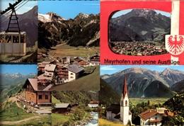 493565,Leporello Sammelmappe 12 Fotos Ansichten Mayrhofen U. Seine Ausflüge Typen Sei - Ansichtskarten