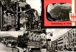 493572,Leporello Sammelmappe 10 Fotos Ansichten Rattenberg I. Tirol - Ansichtskarten