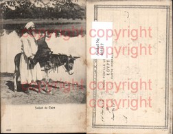 465517,Sakkah Du Cairo Kairo Mann Esel Volkstypen Afrika - Afrique