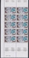 TAAF 1979 Telemesure De Kerguelen 1v Bl Of 10 ** Mnh (TA202) - Franse Zuidelijke En Antarctische Gebieden (TAAF)