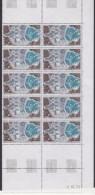 TAAF 1979 Telemesure De Kerguelen 1v Bl Of 10  (printing Date) ** Mnh (TA202A) - Franse Zuidelijke En Antarctische Gebieden (TAAF)