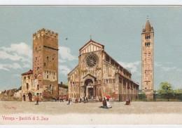 ITALY POSTCARDS  VERONA-BASILICA DI S.ZENO - Italy