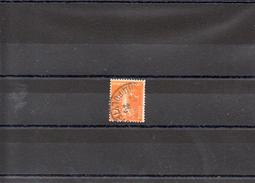FRANCE 1921 / 2 N° 158 II B OBLITERE - Gebraucht