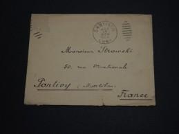 CUBA - Enveloppe Pour La France En 1903 , Cachet Division Navale De L 'atlantique Au Verso - A Voir - L 955 - Cuba