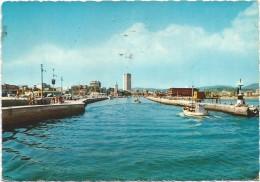 R1766 Rimini - Porto Canale - Panorama / Viaggiata 1968 - Rimini