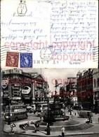 465762,Reklame Piccadilly Circus London Bus Auto BP Max Factor Wrigleys Osram - Werbepostkarten