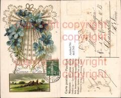 465745,Präge Ak Geprägt Blumen Bonne Fete - Ansichtskarten