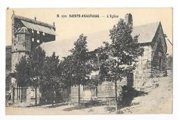 SAINTE-ANASTASIE  (cpa 15)  L'Eglise     #   RARE  #-   -  L 1 - Francia