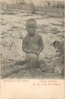 CONGO FRANCAIS  JEUNE FILLE INDIGENE - Congo Francese - Altri