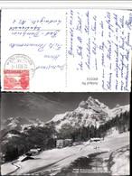 495531,Braunwald Hotel Niederschlacht Geg. Ortstock Bergkulisse Kt Glarus - GL Glarus