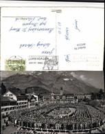 495534,Glarus Landsgemeinde Verteidigung Versammlung Bergkulisse - GL Glarus