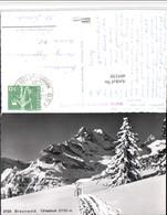 495530,Braunwald Ortsstock Bergkulisse Kt Glarus - GL Glarus