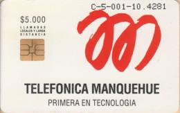 Chile - Chip - Test - TM-01 - Antenna - MINT - RRRR - Chile