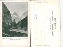 495527,Uelialp Mit Dem Tödi Bergkulisse Kt Glarus - GL Glarus