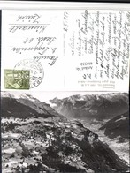 495532,Braunwald Blick Geg. Fronalpstock Bergkulisse Kt Glarus - GL Glarus