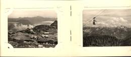 493596,Leporello Sammelmappe 12 Fotos Ansichten Ebensee Feuerkogel Seilbahn Dampfschi - Ansichtskarten